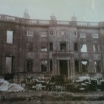 Mells Park destroyed by fire in the 1930's